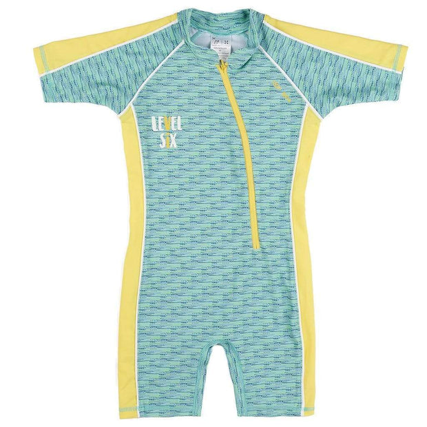 Girl's Aurora Sunsuit Kid's Casual MIXED DASHES / 0T Outlet