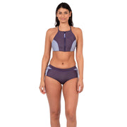 Jade Neoprene Bikini Bottom Neoprene Swim Level Six