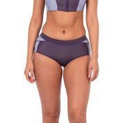 Jade Neoprene Bikini Bottom Neoprene Swim XS / Purple Level Six