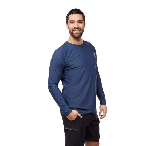 Men's Coastal Long Sleeve Sun Protection Lycra Outlet