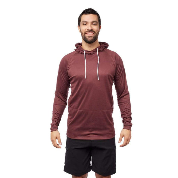 Men's Vapour Hoody Lycra BURGUNDY / S Outlet