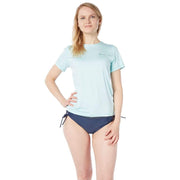 Oasis Short Sleeve Sun Shirt Lycra ICE AQUA MELANGE / S Outlet