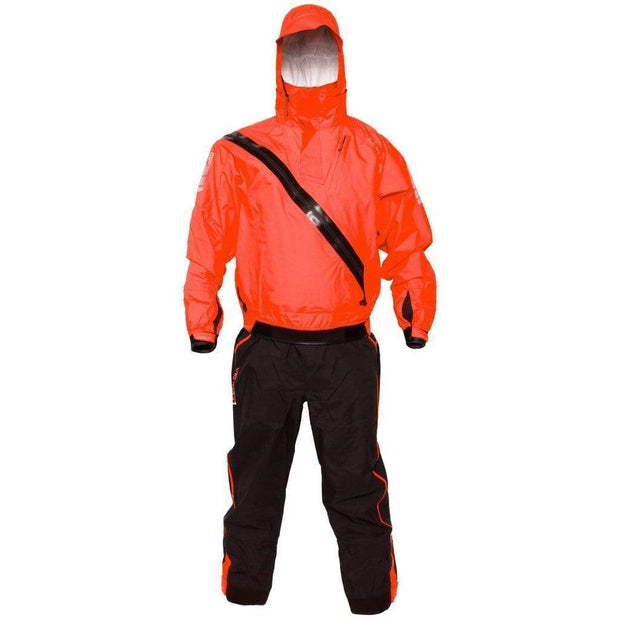 Orion Front Entry Immersion Suit Dry Suits Blaze Red/Midnight Black / XS Outlet