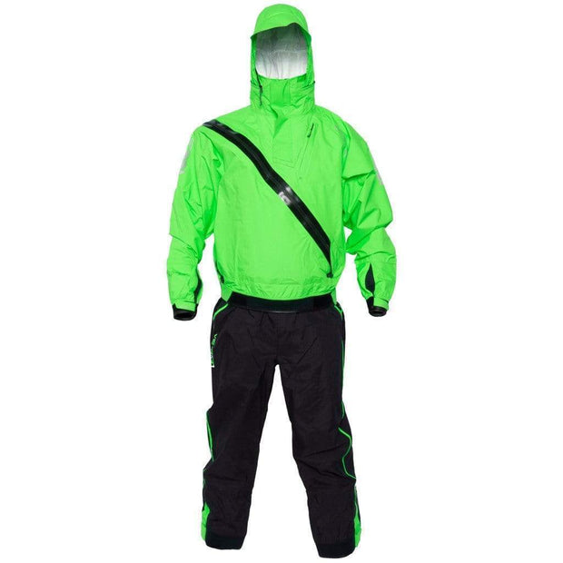 Orion Front Entry Immersion Suit Dry Suits Kiwi Green/Midnight Black / XS Outlet