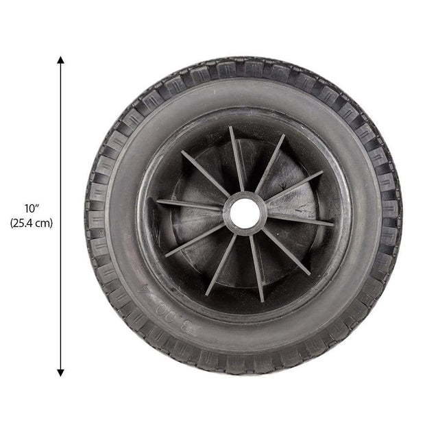 "Replacement All-Terrain Foam Tire - 10"" (25.4 cm) CRS"