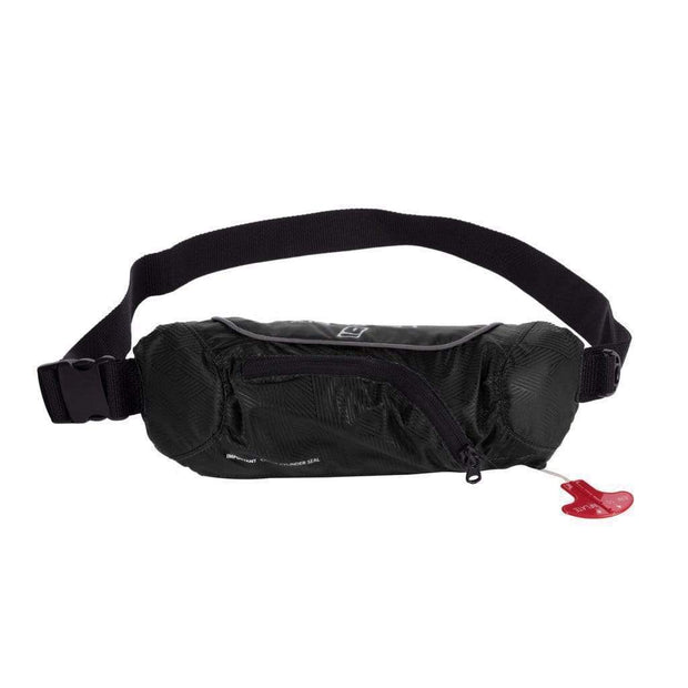Rip Cord Inflatable Belt PFD - UL APPROVED (USA) PFD's Black / American Coast Guard UL Outlet