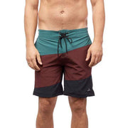 Slanted Boardshorts Boardshorts BURGUNDY / 30 Outlet