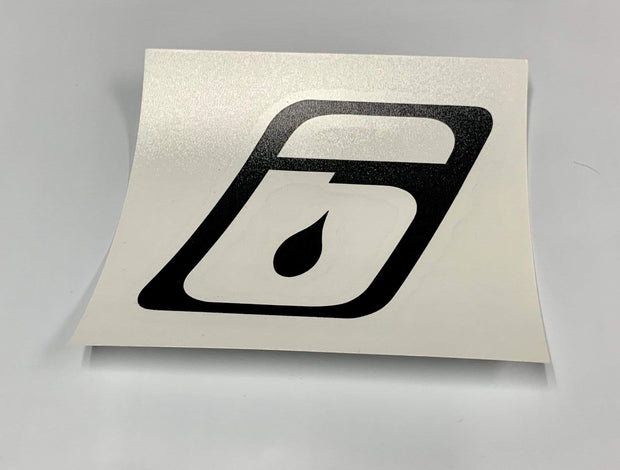 Stickers Paddling Accessories 6 Logo Transfer / Black Level Six