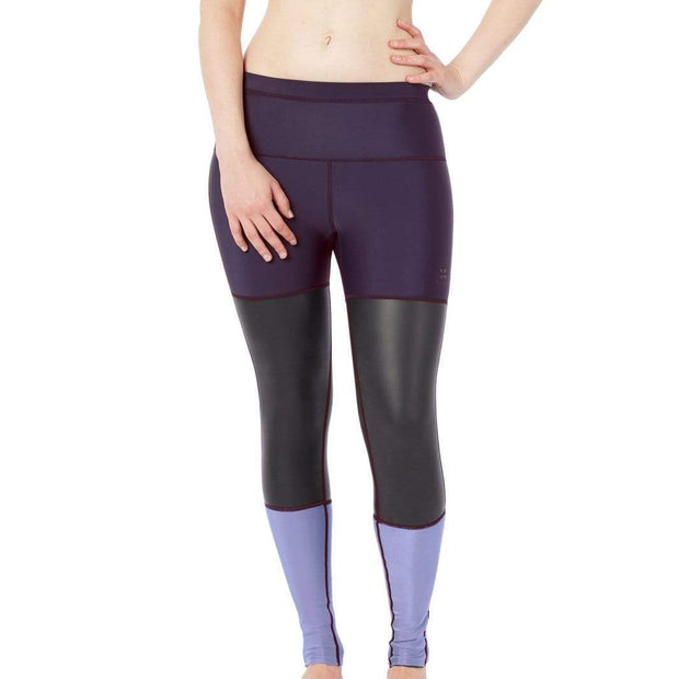 Storm Neoprene Leggings Neoprene Swim XS / Purple Level Six