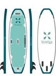 Ten 0 Yoga Ultralight Inflatable SUP Board SUP Boards Moraine Lake Level Six SUP