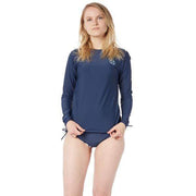 Women's Coastal Long Sleeve Sun Shirt Lycra NAVY / XS Outlet
