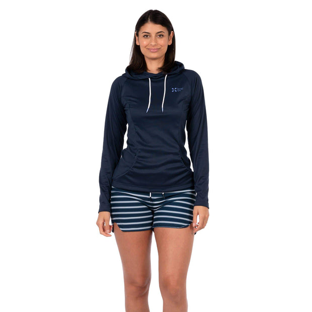 Women's Mist Hoody Womens Sun Protection/Layering XS / Navy Level Six