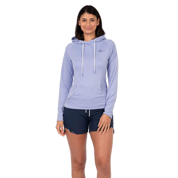 Women's Mist Hoody Womens Sun Protection/Layering XS / Purple Level Six