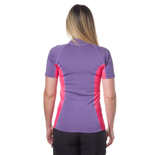 Women's Sombrio Short Sleeve Neoprene Rash Guard Neoprene Level Six