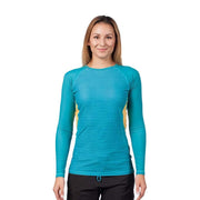 Women's Venus Long Sleeve Rash Top Womens Sun Protection/Layering LAGUNA RIPPLES / XS Level Six