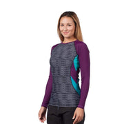 Women's Venus Long Sleeve Rash Top Womens Sun Protection/Layering Level Six
