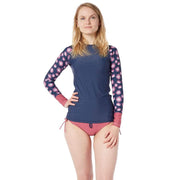 Women's Venus Sun Shirt Lycra NAVY FLOWERS / XS Outlet