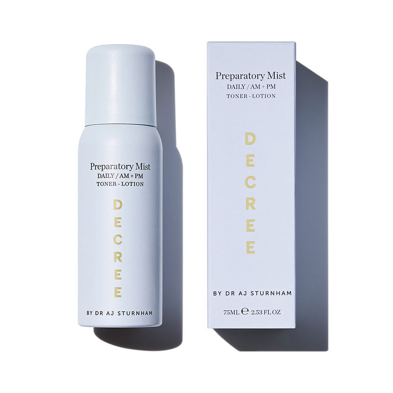 Duo Preparatory Mist & SPF Spray Set - The Decree
