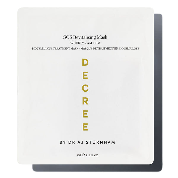 SOS Revitalising Sheet Mask - The Decree