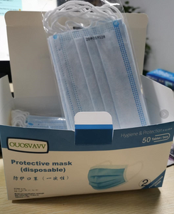 OUOSVAVV 3-Ply Protective Masks (Disposable)