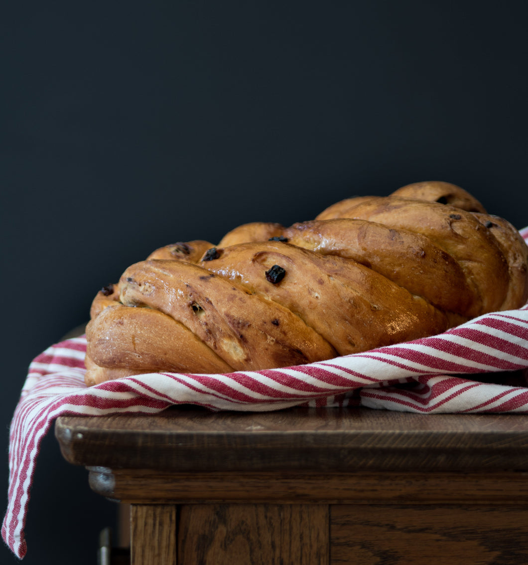 Raisin Egg Bread