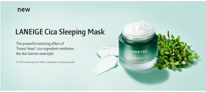 laneige cica sleeping mask K beauty South Africa  The beauty Regime