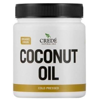 Credé organic cold pressed virgin coconut oil 1kg