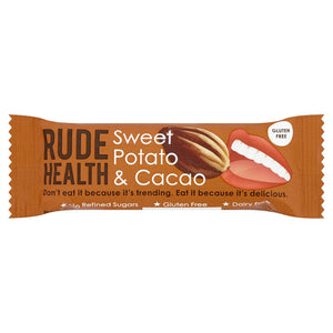 Rude Health - Sweet Potato & Cacao bar
