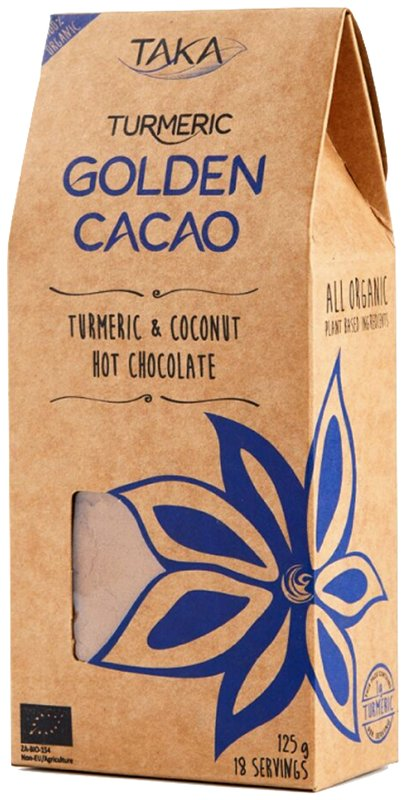 Taka Golden Cacao healthy hot chocolate