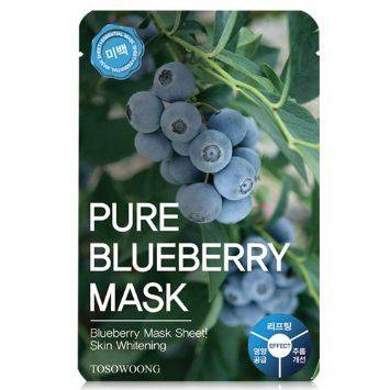 TOSOWOONG - Pure Blueberry Mask- K Beauty South Africa