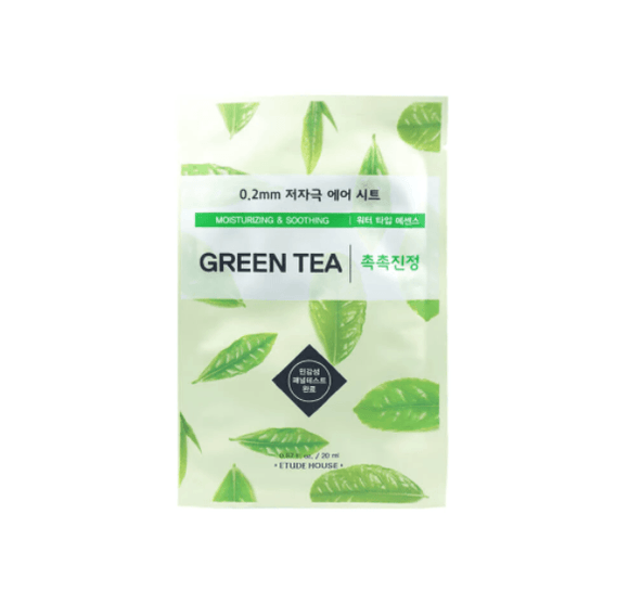 Etude house - Green Tea 0.2mm Therapy Air Mask