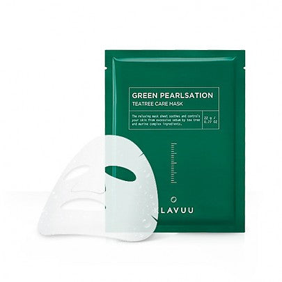KLAVUU - Green Pearlsation Tea Tree Care Mask