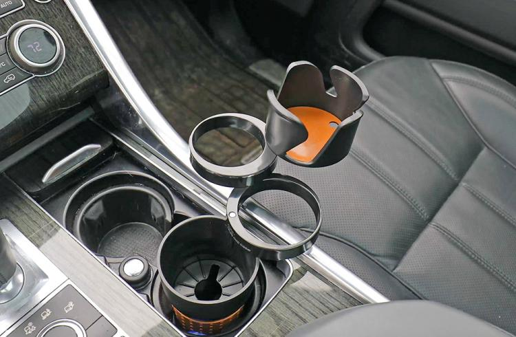 Smart Multi-Cup Car Cup-Holder and Storage