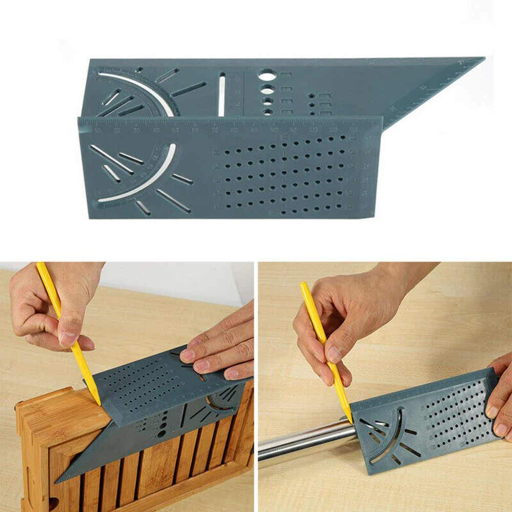3D Mitre Angle Measuring Square Measure Tool Gauge Ruler