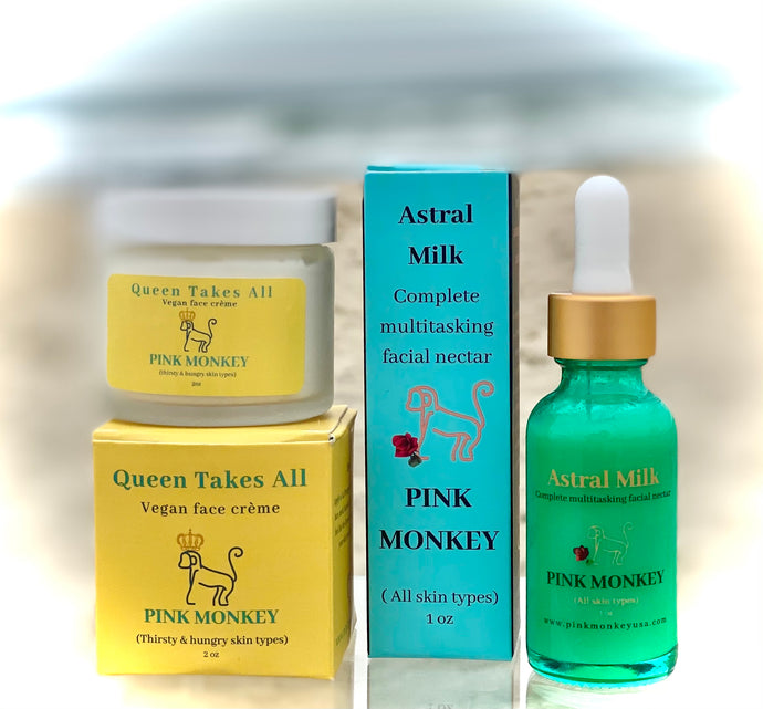 Face Kit for all ages (and all skin types) by Pink Monkey