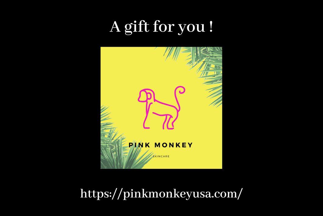 Pink Monkey Gift Card