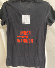 Load image into Gallery viewer, Women's Inner Warrior T-Shirt- Black (🎁gift idea!)
