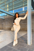 Load image into Gallery viewer, Beige Ye Saint West jogger Set