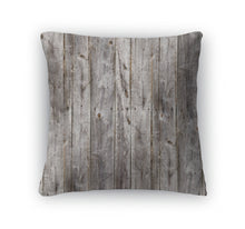 Load image into Gallery viewer, Throw Pillow, Old Gray Fence Boards Wood - KAUBI TRENDING EMPIRE