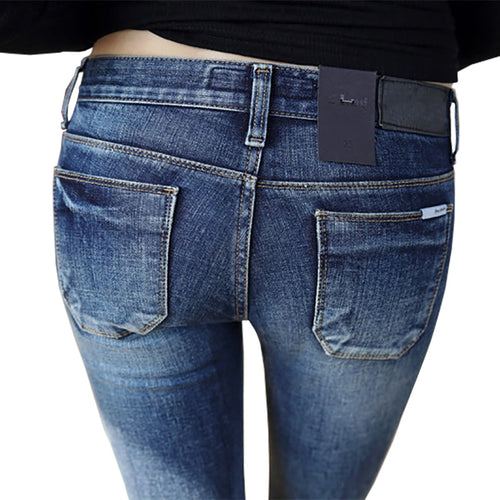 2019 New Jeans Fashion Sexy Slim Fit Jeans for Women - KAUBI TRENDING EMPIRE