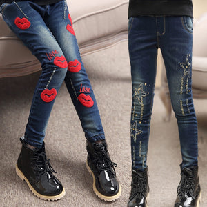 2019 girls jeans slim thin denim - kaubi-online
