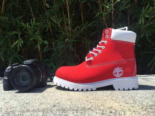 Timberland Boots for Women Red - KAUBI TRENDING EMPIRE