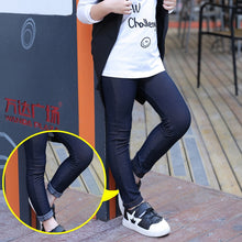 Load image into Gallery viewer, Imitation Denim Girl Skinny Jeans Pants - KAUBI TRENDING EMPIRE