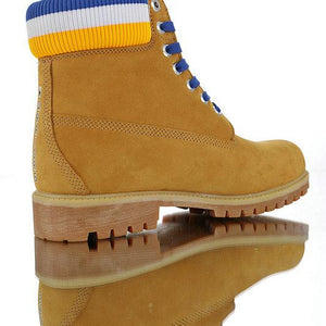 Timberland Boots for Men Golden State Warior (Yellow and Blue) - kaubi-online