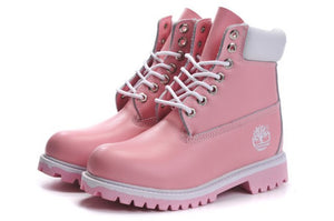 Tims Boots for women Pink - KAUBI TRENDING EMPIRE
