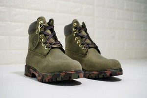 Timberland Boots for Men Army Green - kaubi-online
