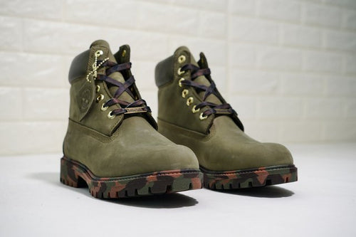 Timberland Boots for Women Army Green - KAUBI TRENDING EMPIRE