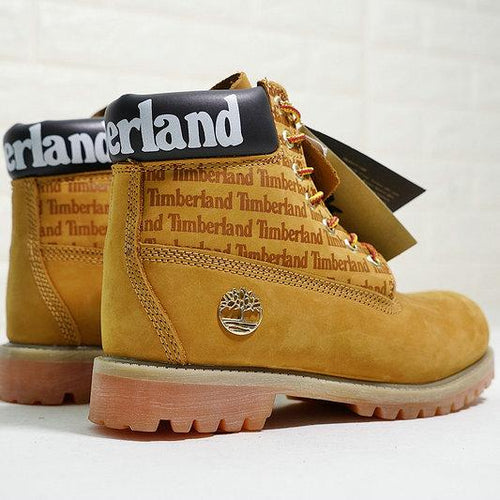 Timberland Boots for Men Wheat Yellow Black White - kaubi-online