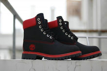 Load image into Gallery viewer, Tims Boots for Men Red & Black - KAUBI TRENDING EMPIRE