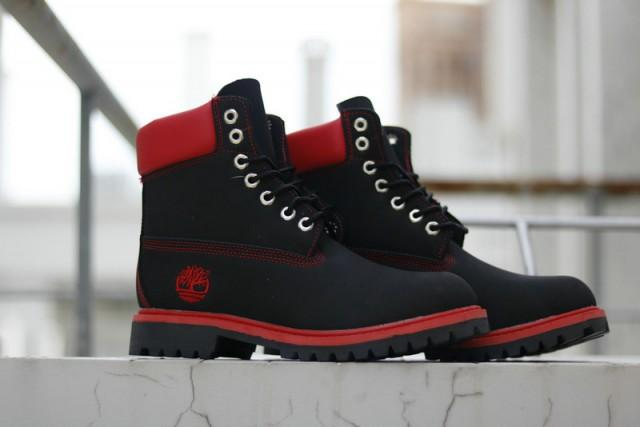Tims Boots for Men Red & Black - KAUBI TRENDING EMPIRE